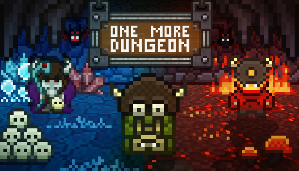 One More Dungeo game logo